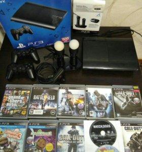 Игровая приставка Sony PS3 500Gb
