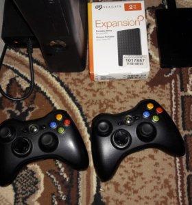 Xbox 360 freeboot. Slim. 250 gb. Kinect.