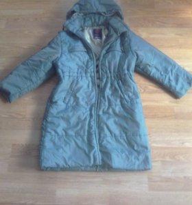 Продаю пальто цвет хамелеон .