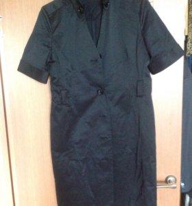 Чёрный платье на пуговицах WoolStreet 40