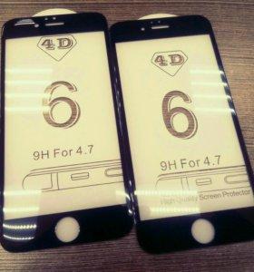 4d стекло iphone 6/6s, 7