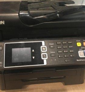 Мфу цветной Epson WF-3620 с снпч