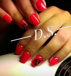 Моделирование ногтей  (наращивание)