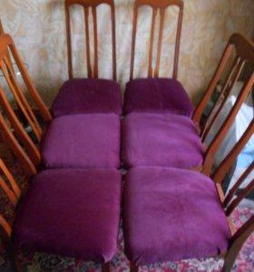 шесть стульев в отличном состоянии недорого