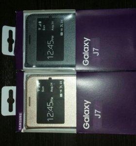 Чехол -книжка для Galaxy J7