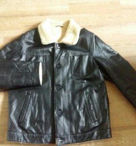 Куртка-дубленка