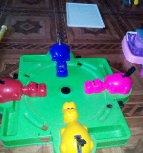 Бегемотики игра для семьи только шарики дось растн