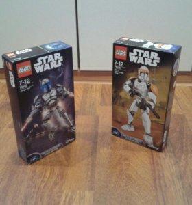 LEGO Star Wars 75107 + 75108