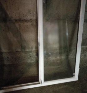 Пластиковое окно, б/у