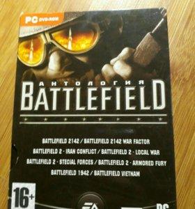 Диск Battlefield антология.