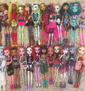 Куклы Monster High - Ever After High