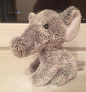 Слоник, мягкая игрушка