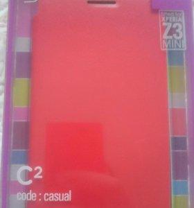 Sony Z3 compact Чехол Новый