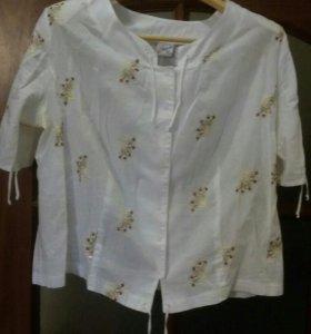 Блузка женская б/у размер 54-56