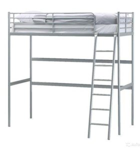 кровать чердак -ikea тромсо