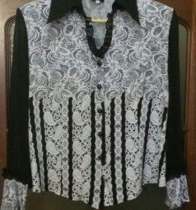 Блузка женская б/у размер 52