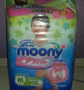moony трусики M памперсы