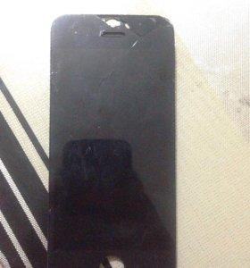 Дисплей рабочий iPhone 5