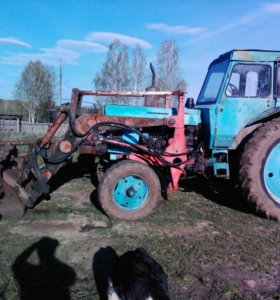 мтз-80 с куном