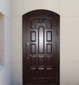 Арочные стальные двери от производителя
