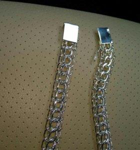 Цепь серебро 154 грамма