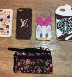 Чехлы на iPhone 4, 4s, 5, 5s