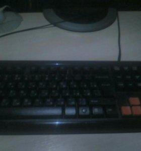 Офисный компьютер + (клавиатура и мышь)