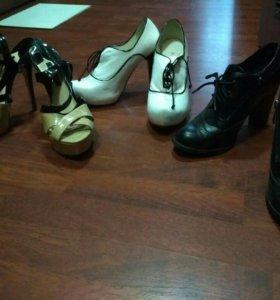 Ботинки, туфли, босоножки