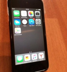 iPod touch 5 32G, grey.