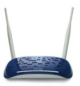 N300 Wi-Fi роутер с adsl2+ модемом TD-W8960N