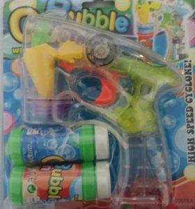 Мыльные пузыри пистолет