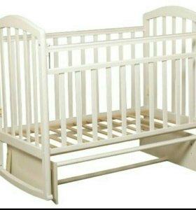 Детская кроватка Антел Алита 3 (поперечный маятник