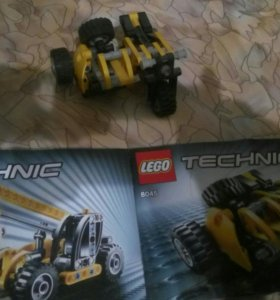 Lego мотоцикл 2в1