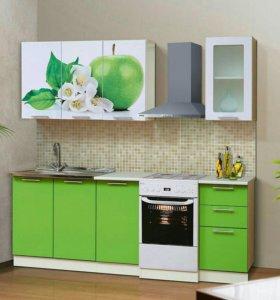 Кухонные гарнитуры , размер 1.6м.,1.8м.,2.0 м
