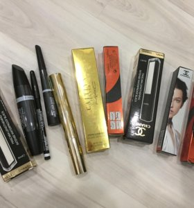 Тушь , карандаши и подводки Chanel mac , Dior