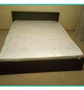 Кровать двуспальная новая марс