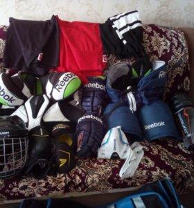 Комплект хоккейной формы без коньков