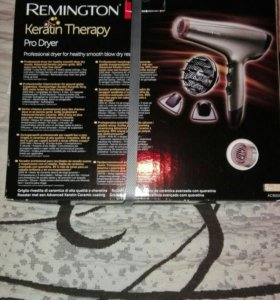 Фен REMINGTON Keratin Therapy Pro Dryer AC 8000