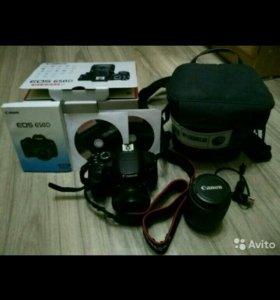 Продаю зерк. ф-т Canon 650d с объективом 18-55