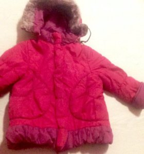 Курточка зима очень тёплая