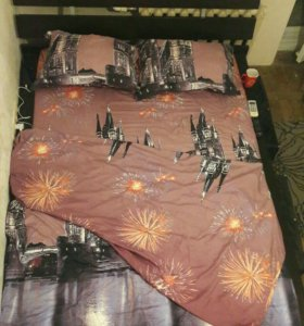 Кровать и матрац IKEA