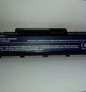 Аккумулятор для ноутбука Aser Aspire