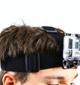 Налобное крепление для экшн камер