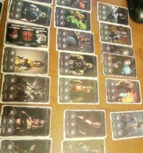 Коллекция карточек Mortal Kombat