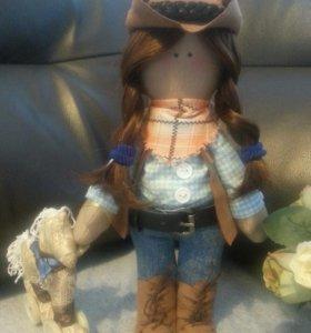 Игрушка-кукла. Ручная работа.