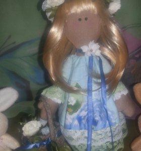 Игрушка-кукла. Ручная работа