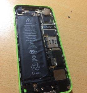 Запчасти айфон 5c