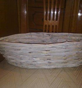 Корзина для подарка 44х18см высота 12 см