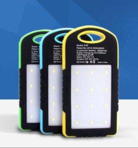 Power Bank на солнечных батарейках