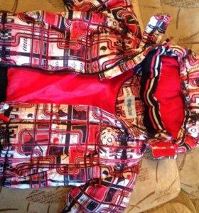 Куртка зимняя мальчику, рост 104 (3-5 лет)